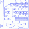 kia sportage engine lighting fuse box block circuit breaker kia sportage suv 2000 engine fuse box block circuit breaker diagram