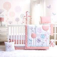 pink and gray elephant nursery bedding grey uk boy