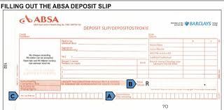 deposit slip examples deposit slip template playbestonlinegames