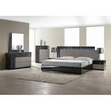 modern bedroom furniture. Perfect Modern Kahlil Platform 5 Piece Bedroom Set On Modern Furniture D