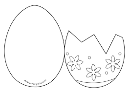 Small Picture easter egg card templates Holiday Themed things Pinterest