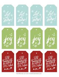Free Holiday Gift Tags Todays Creative Life