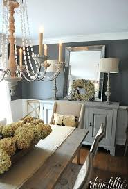 the right balance between modern and vintage farmhouse dining room lighting best design decor ideas