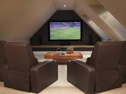attic man cave. if you have an attic perhaps a good idea for make over and parent man cave