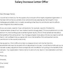 Counter Offer Letter Template Salary Negotiation Email Sample