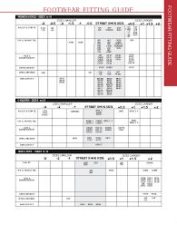 Bloch Pointe Shoe Size Chart 34 Particular Capezio Daisy Size Chart