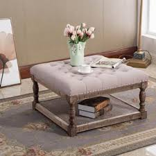 ottoman coffee table. Julianna Cocktail Ottoman Coffee Table
