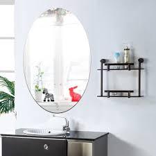 Adhesive Bathroom Mirror Online Get Cheap Bathroom Mirror Oval Aliexpresscom Alibaba Group