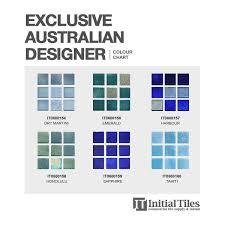Exclusive Australian Designer Mosaic 25mm Topaz