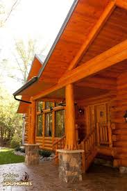 Concrete Cabin 64 Best Collection Exterior Views Of Log Homes Images On