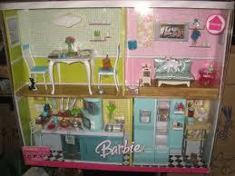 Barbie Kitchen Furniture Barbie Mattel Home Furniture Deluxe Gift Set Kitchen Living Room