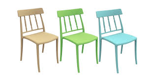 stackable plastic chairs. Plastic Dining Room Chairs · Stackable L