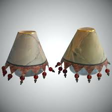 mackenzie childs lamp shades and shade retired no longer thistle chandelier