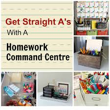 get straight a s a homework command centre