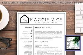 Estate Agent Cv Resume Templates Design Resume Template Real Estate Agent Cv