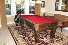 rug under pool table alluring placing a pool table on rug billiards service orange rugs best rugs for pool tables