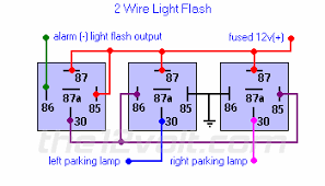 flash two wire german vehicles weak negative output from light flash two wire german vehicles weak negative output from alarm keyless entry