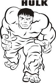 printable hulk coloring pages