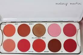 kryolan blusher palette 10 colors review 5