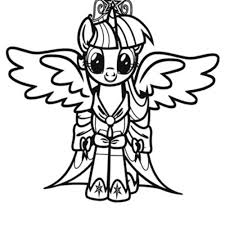 My Little Pony Coloring Pages With Print Download Learning Fun Of