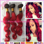 Colored hair extensions human hair