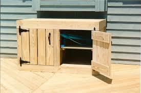 Deck Storage Cabinet Cymun Designs - Exterior storage cabinets