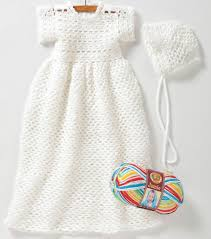 Free Crochet Christening Gown Patterns Magnificent Inspiration