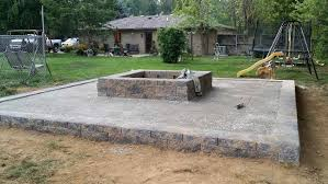 patio pavers with fire pit. Custom Patio Pavers With Fire Pit