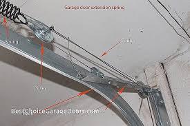 repair garage door spring cable inspirational lovely garage door extension spring calculator