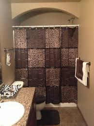 Giraffe Bathroom Decor Bathroom Brown And Cheetah Decor Love This The New Home