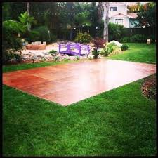 diy outdoor floor ideas backyard outside