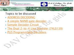 microprocessor address decoding ppt video online 2 topics