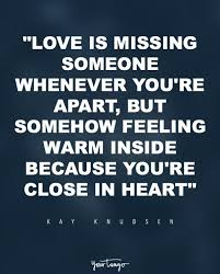 Quotes About Missing Someone Awesome 48 Quotes For When You're REALLY Missing Someone You Love YourTango