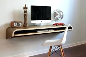 build a floating computer desk corner diy the wonderful of
