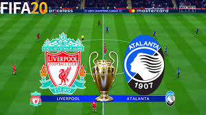 FIFA 20 | Liverpool vs Atalanta - UEFA Champions League - Full Match &  Gameplay - YouTube