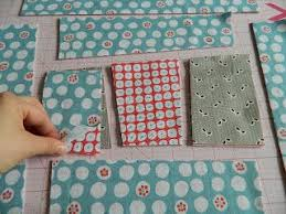 8 best Stack n Slash Quilt images on Pinterest   Ideas, Projects ... & 6 quilt blocks cut at once: improv block using stack and slash method  {tutorial} Adamdwight.com