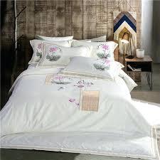 white embroidered duvet cover white bedding set cotton bedding embroidered duvet cover oriental bedding king size