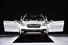 subaru new models 2018.  new subaruu0027s new 3 row crossover that replaces tribeca is coming in 2018   youtube with subaru new models