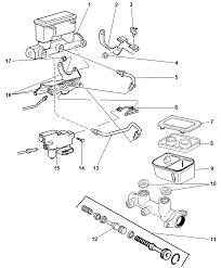 1997 dodge ram 1500 brake master cylinder diagram 00i14902