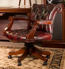 luxury office chairs leather. simple leather full cowhide leather furniture winston office chair in burgundy intended luxury office chairs leather c