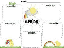 5 Free Printable Spring Writing Templates Teach Junkie