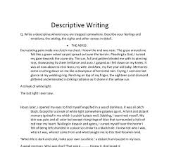 essay describing a person descriptive essay describing a person