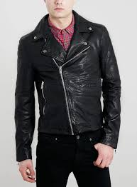 black leather biker jacket leather jackets leather leather look jackets men s coats jackets clothing
