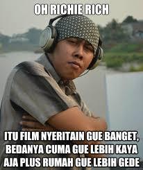 Oh Richie rich Itu film nyeritain gue banget, bedanya cuma gue ... via Relatably.com
