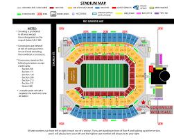 charts maps seating chart stadium map