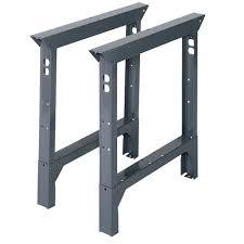 d steel adjule height workbench legs abl30 the home depot