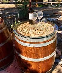 wine barrell furniture.  Barrell Wine Barrel Table Intended Barrell Furniture A