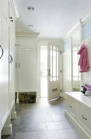 Mudroom U0026 Laundry Room Design  Gray Lockers U0026 Cabinets  Slate Mud Rooms Designs