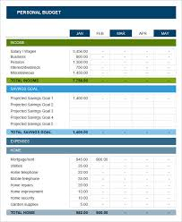 Sample Personal Budget Templates Sample Yearly Personal Budget Spreadsheet Yearly Budget Template