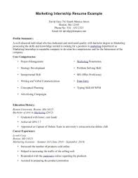 Resume Template For Internship Objective For Internship Resume 97 Summer Intern Resume